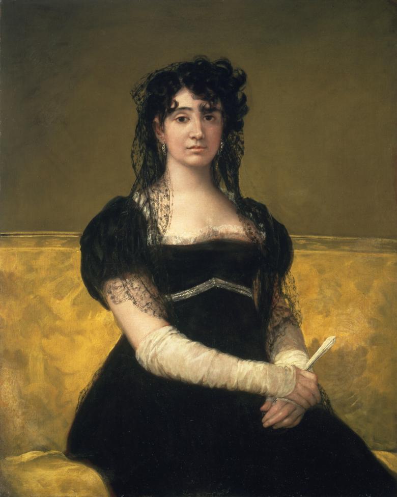 Doña Antonia Zárate by Francisco José de Goya y Lucientes | National Gallery of Ireland