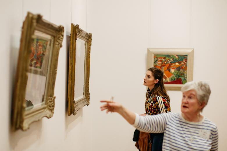 A guided tour of the artworks on display in the Millennium Wing. © National Gallery of Ireland.