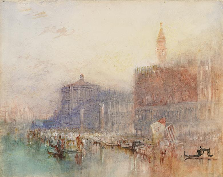 J.M.W. Turner (1775-1851), The Doge's Palace and Piazzetta, Venice, c.1840