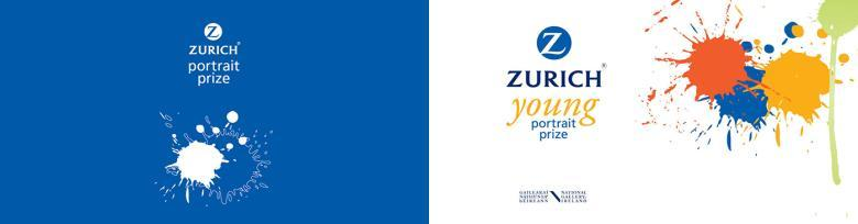 Logos for Zurich Portrait Prize and Zurich Young Portrait Prize