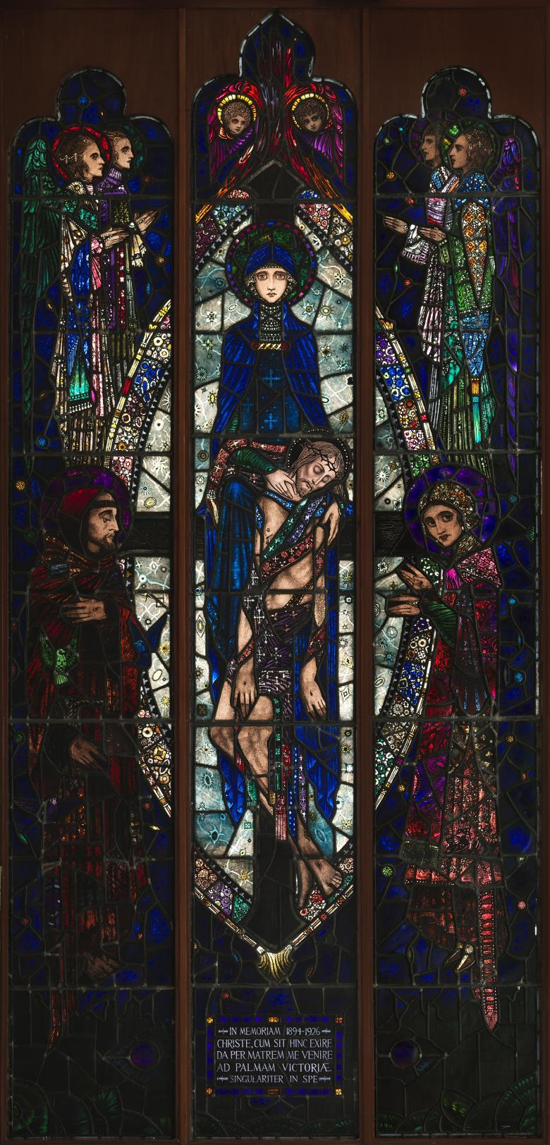 Harry Clarke (1889-1931), 'The Mother of Sorrows', 1926. © National Gallery of Ireland.