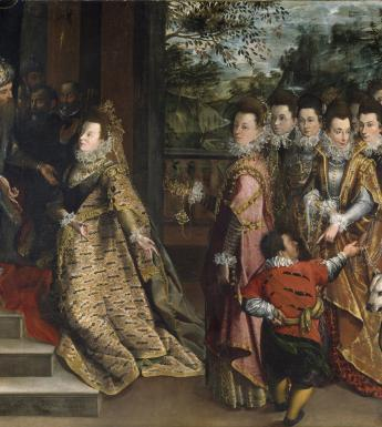Lavinia Fontana (1552-1614), 'The Visit of the Queen of Sheba to King Solomon', c.1600. © National Gallery of Ireland.