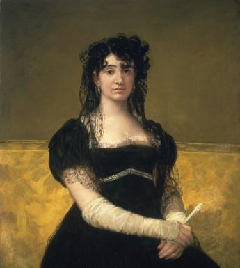 Francisco José de Goya y Lucientes (1746-1828), 'Portrait of Doña Antonia Zárate', c.1805. © National Gallery of Ireland.