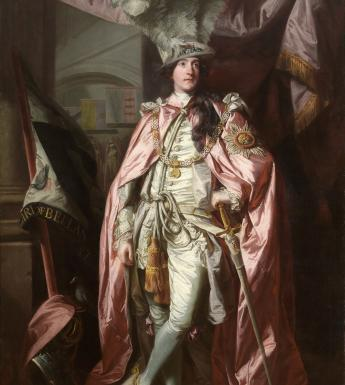 Joshua Reynolds (1723-1792), 'Portrait of Charles Coote, 1st Earl of Bellamont (1738-1800), in Robes of the Order of the Bath', 1773-1774. © National Gallery of Ireland.