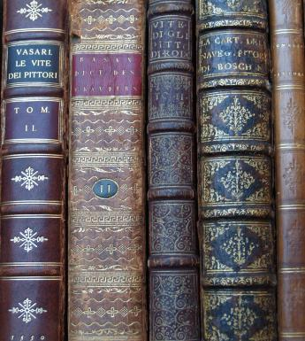 Rare books in the Sir Denis Mahon Library
