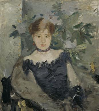 Berthe Morisot (1841–1895), 'Le Corsage Noir', 1878. Photo © National Gallery of Ireland.