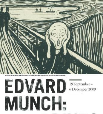 Edvard Munch: Prints. Photo © National Gallery of Ireland