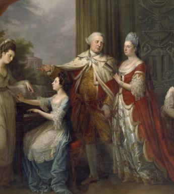 Angelica Kauffmann (1741-1807), 'The Ely Family', 1771. © National Gallery of Ireland.