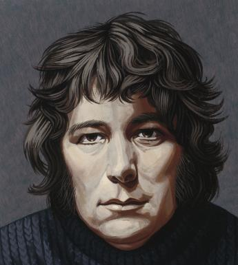 Edward A. McGuire (1932-1986), 'Portrait of Seamus Heaney (1939-2013), Poet', 1974. © National Gallery of Ireland.
