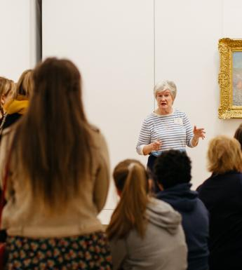 Free guided tours of selected works take place every weekend. © National Gallery of Ireland.