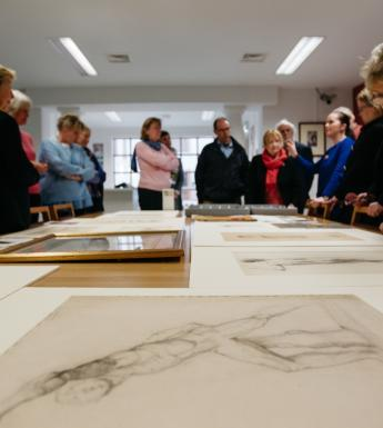 A tour for the Friends of the National Gallery of Ireland. © National Gallery of Ireland.