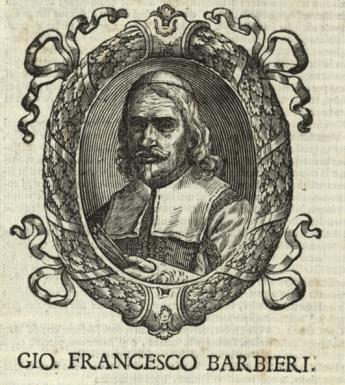Engraved portrait of Guercino