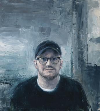 Donald Teskey (b.1956), Lenny Abrahamson (b.1966), filmmaker. 2018. Photo © National Gallery of Ireland. Commissioned by the National Gallery of Ireland, 2018.