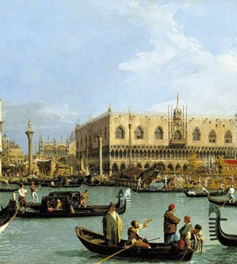 Canaletto (1697-1768), 'The Bacino of San Marco on Ascension Day', c.1733. Royal Collection Trust/© Her Majesty Queen Elizabeth II 2018