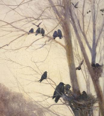 Detail from Mildred Anne Butler, Shades of Evening, 1904.