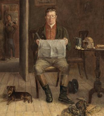 William Mulready (1786-1863), 'A Squire in a Tavern'. Photo © National Gallery of Ireland.