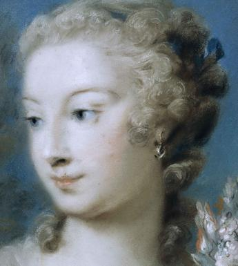 Detail from Rosalba Carriera, Spring, c.1740.