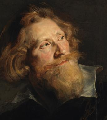 Peter Paul Rubens(1577-1640), 'Head of a Bearded Man' - detail, 1622-24 . © National Gallery of Ireland