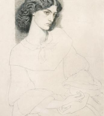 Drawing of Jane Burden