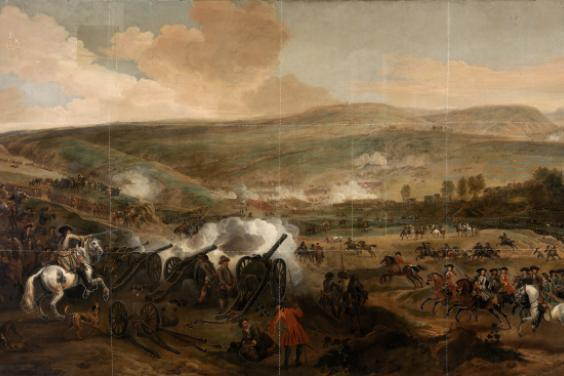 Jan Wyck (1644-1702), 'The Battle of the Boyne', 1693.