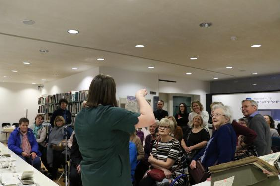 Talk at the Centre of the Study of Irish Art