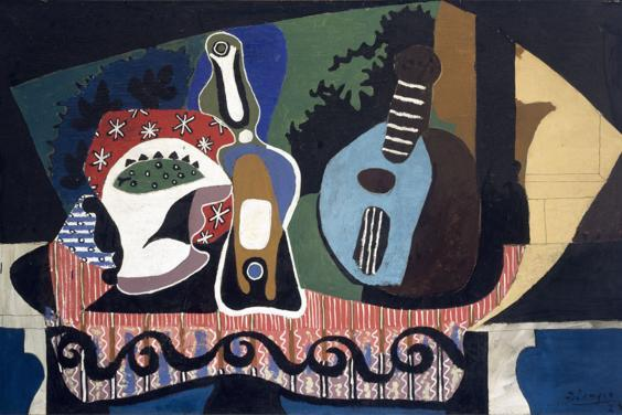 Pablo Picasso (1881-1973), 'Still Life with a Mandolin', 1924. © Succession Picasso/DACS, London 2017.