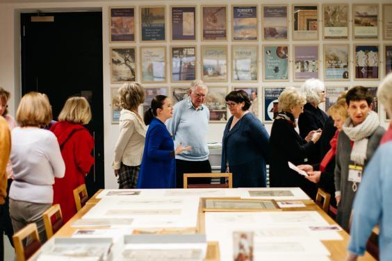 Tour of the Print Room. © National Gallery of Ireland.