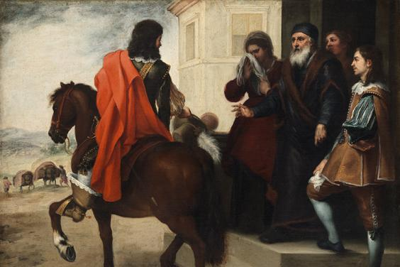 Bartolomé Esteban Murillo, The Departure of the Prodigal Son, 1660s.