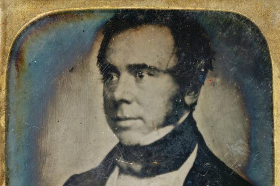 Daguerreotype portrait of Thomas Matthew Ray