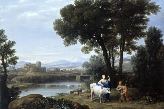 Claude Lorrain, Juno Confiding Io to the Care of Argus, 1660.
