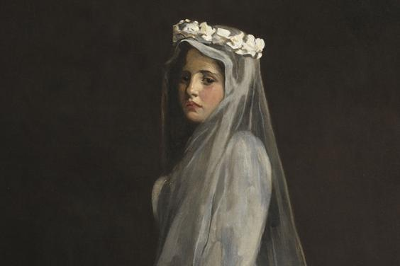 Detail from John Lavery's 'Her First Communion'.