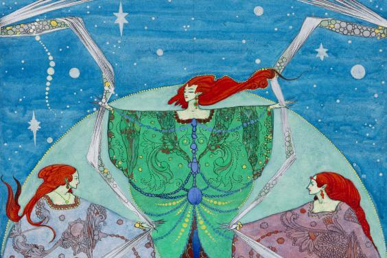 Harry Clarke's picture of elves