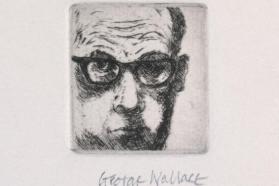 Self portrait by George Wallace
