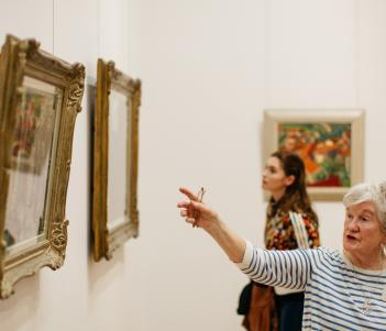 A free guided tour of the Millennium Wing collection. © National Gallery of Ireland.