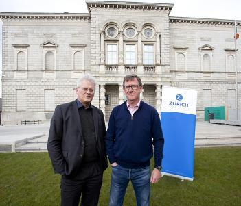 Zurich and National Gallery of Ireland partnership announcement photo
