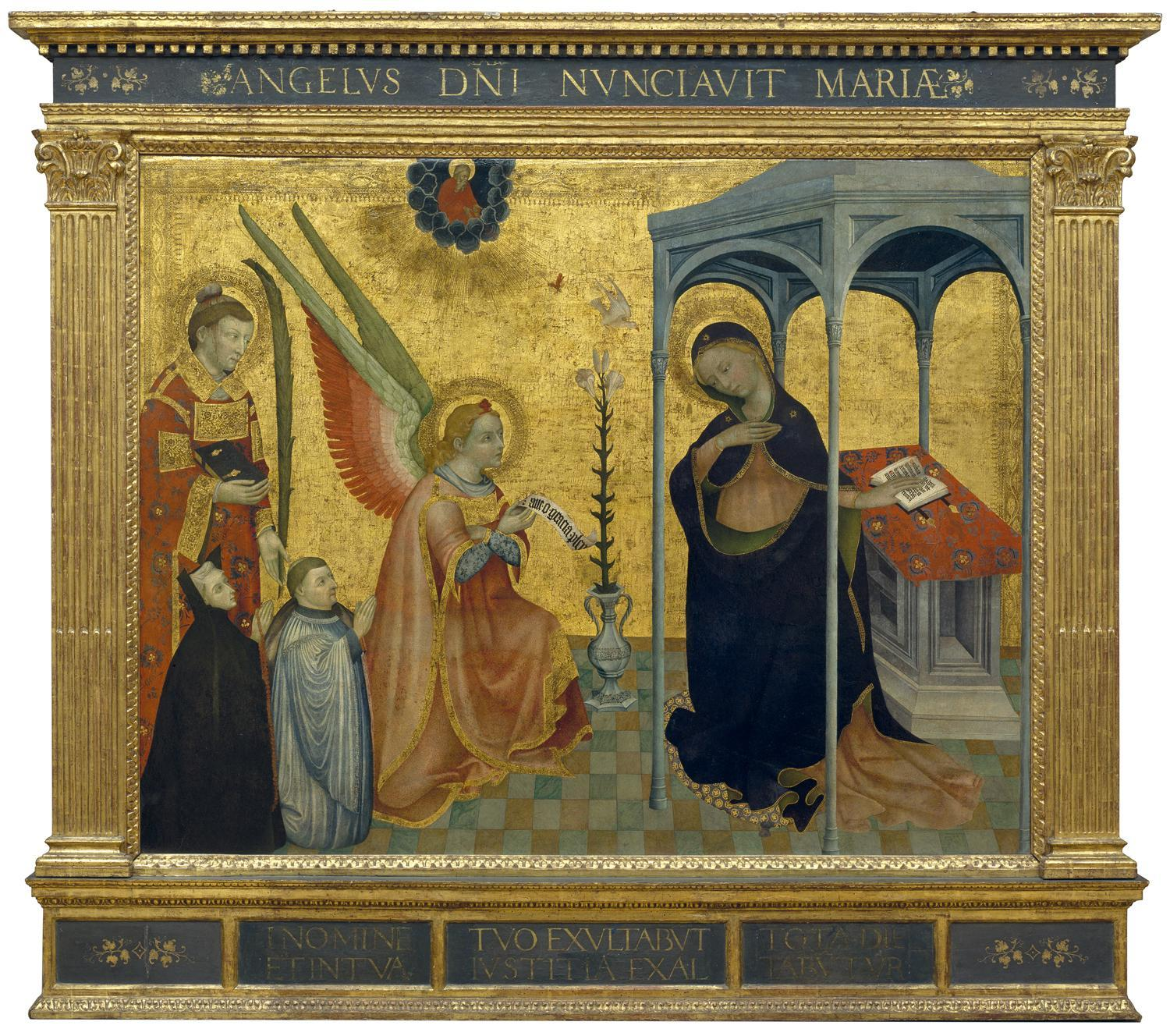 Jacques Yverni (fl.1410-1438), 'The Annunciation', c.1435. © National Gallery of Ireland.